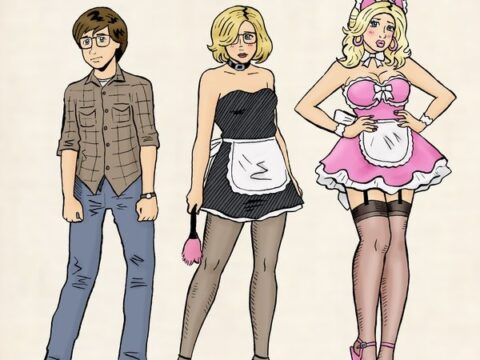 evolution of sissy (feminization)