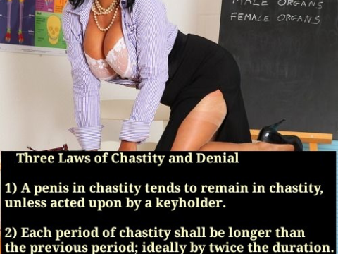 4 Laws of Chastity and Denial