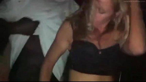 Clubbing Wife Got Gangbang