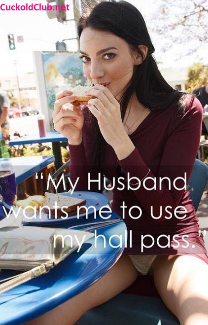 Hotwife Hall Pass Captions