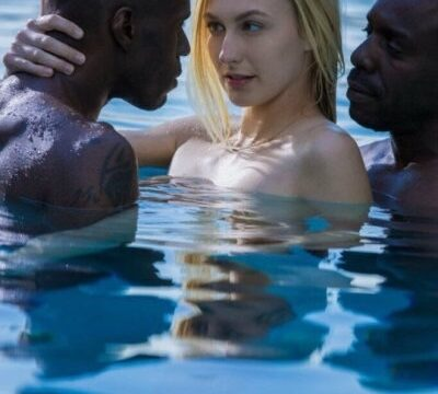 Wife-Seducing-Two-Black-Man-in-Pool