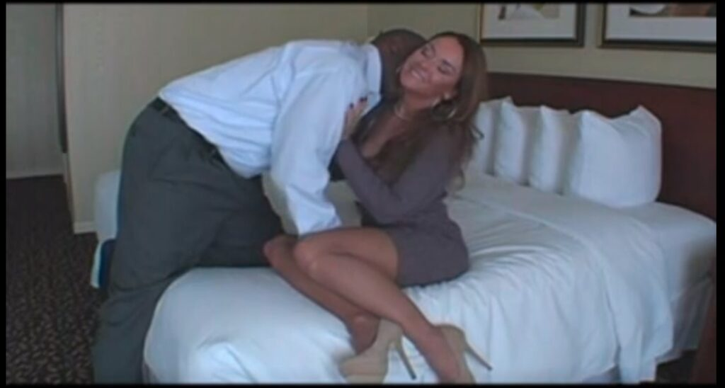 Beautiful Milf Fucked By BBC in A Hotel – Filmed for Husband
