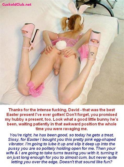 Easter Bunny Sissy Husband