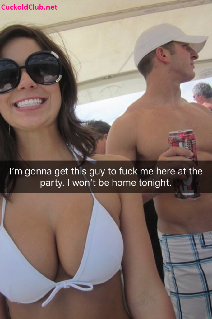 Horny Hotwife At Party Captions