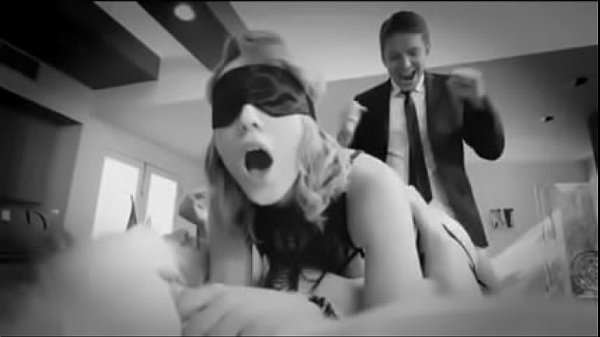 Surprise Double Penetration for Blindfolded Wife