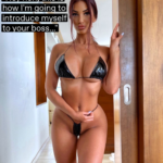 Wife Wearing Sexy Outfit for Cuckold's Boss - 14 Captions