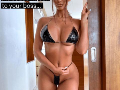 Half-nude-lingerie-for-boss