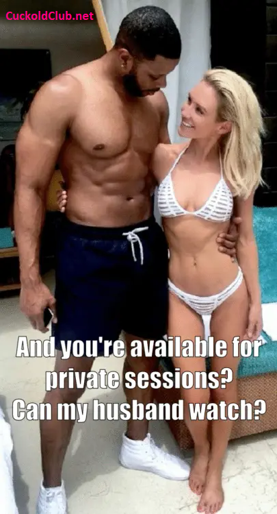 Trainer Private session with wife