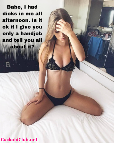 Gangbang for Hotwife and Handjob for cucky