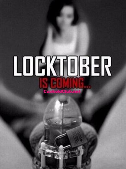 Locktober is Coming Caption